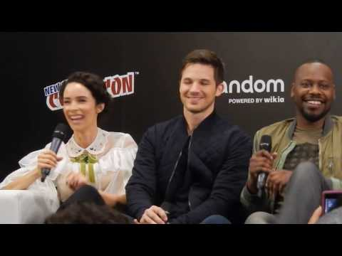 Cast of NBC's Timeless at NYCC 2016: Part 1