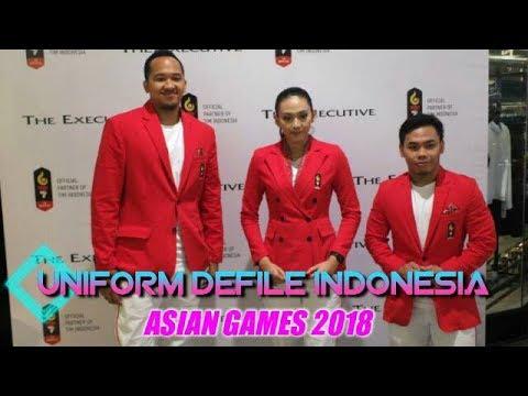 Keren Uniform Defile Indonesia Untuk Asian Games 2018