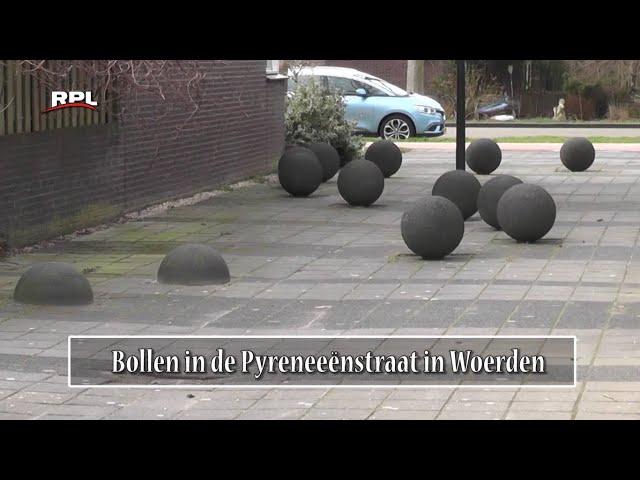 Beelden in Woerden: De Bollen in de Pyreneeënstraat