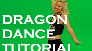 My very first tutorial video!! Learn the Dragon Dance from the Ninj...