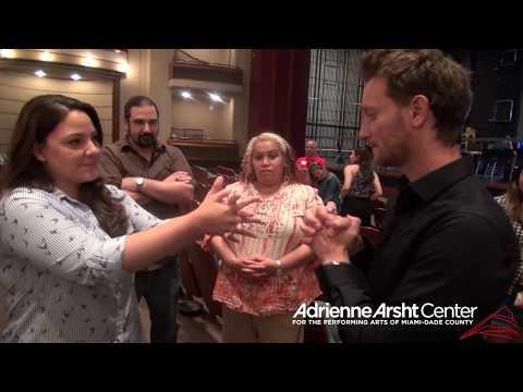 Lior Suchard at the Adrienne Arsht Center