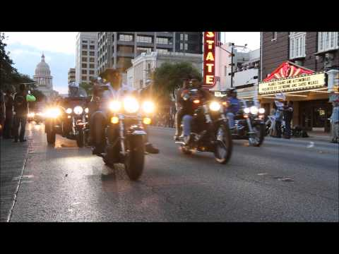 Republic Of Texas (R.O.T.) Parade On Congress Ave - Austin, Texas (6/13/2014)