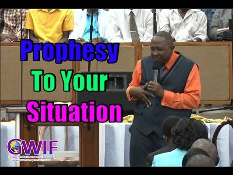 Prophesy To Your Situation -  Apostle Andrew Scott