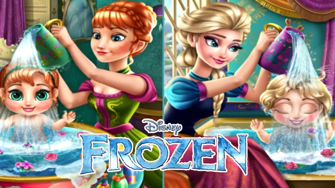 Play Free Frozen games Online - BabyGames.Com
