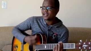 Anderson Gonçalves cantando a musica Ele Não Desiste de Você