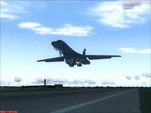 (FS2004) Military Aircraft test flight compilation