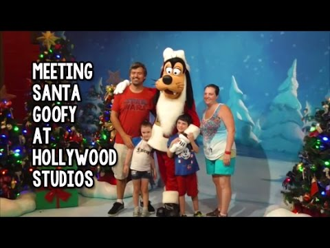 5c244fc2a5d5d Meeting Santa Goofy for Christmas at Disney s Hollywood Studios ...
