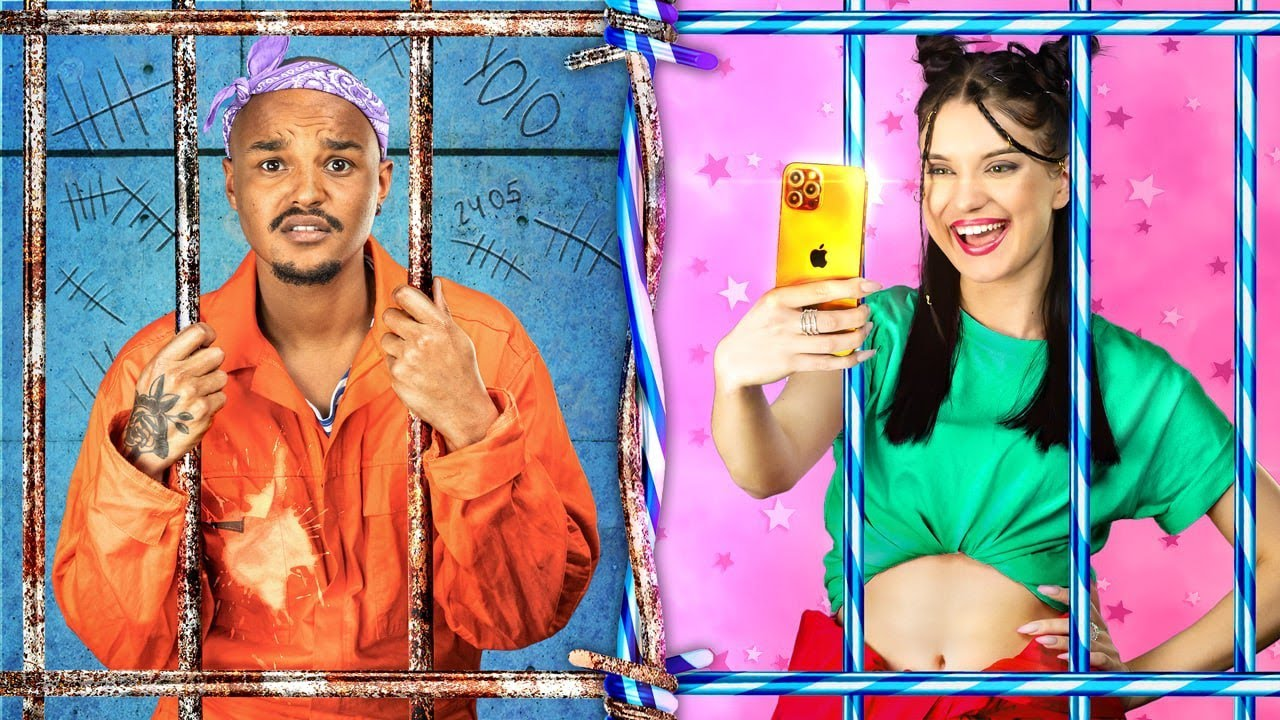 Female Jail vs Male Jail! Funny Situations