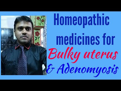 homoeopathic remedies for adenomyosis
