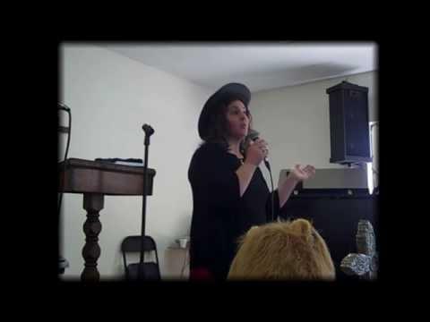 Khalida Wukawitz at the Cowboy Church of Spring Valley, California  Part 1
