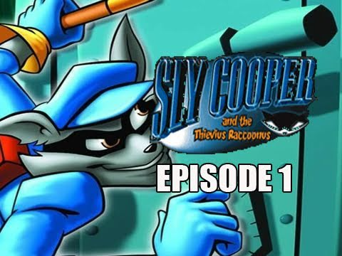 Sly Collection: Sly Cooper Thievius Raccoonus HD Remake: Walkthrough Let's Play Eps. 1 ALL CLUES