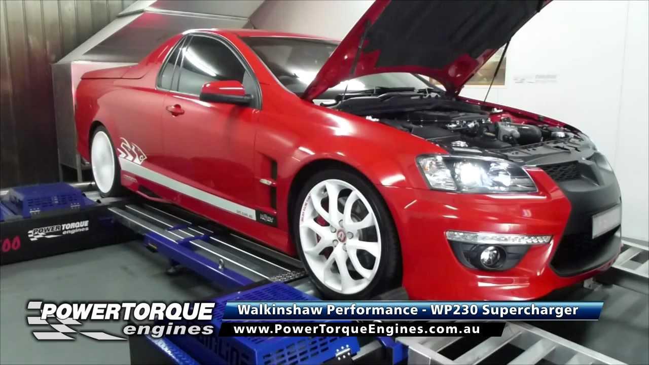 Walkinshaw Performance WP230 Supercharger - E3 Maloo