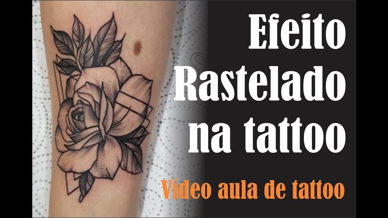Efeito Rastelado Na Tattoo Workshop De Tattoo