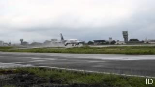 HD - Airbus A319 LAN Landing - Jose Joaquin de Olmedo Intl