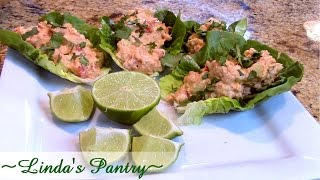 ~chicken Lettuce Wraps From The Home Canned Pantry With Linda's Pantry~