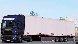 ETS 2 1 26 ProMods 2 15 DAF XF105 Rotterdam - Zwolle - Шок видео с ютуба