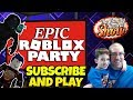 Wednesday Epic Roblox Party 🐛 Subscribe and Play!