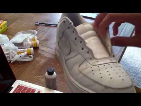 Air Force 1 Restoration! AF1 How To Clean Air Force One's