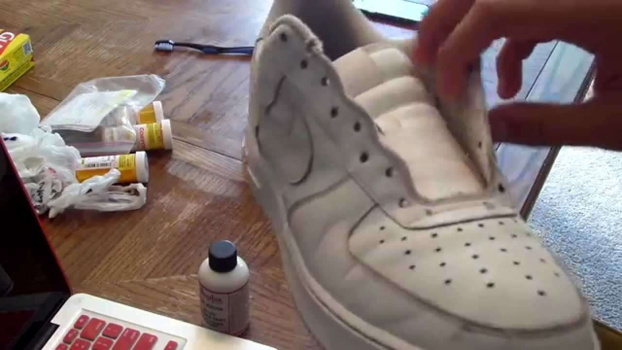 pretty nice 9b3cc b803c Air Force 1 Restoration! AF1 How To Clean Air Force Ones - Y