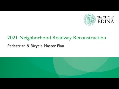 Ped and Bike Master Plan
