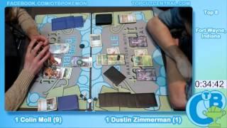 Fort Wayne, Indiana Regionals 2013 Top 8 Colin Moll (Big Basics Garbodor) vs Dustin Zimmerman (Viriz