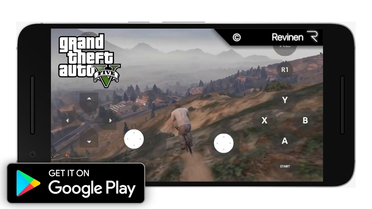 Grand Theft Auto V Android Gameplay 2019 (Real GTA 5 APK)  #Smartphone #Android