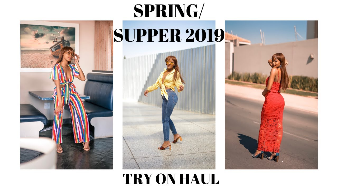 Spring / Summer 2019 Try On Clothing Haul | South African Youtuber