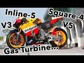 14 Unconventional Motorcycle Engines You May Not Know About | Ep. 1