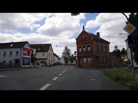 Город St. Augustin, Германия. Катаюсь, показываю, рассказываю.