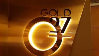 Gold 27 at Burj Al Arab Hotel in Dubai 24.11.2016