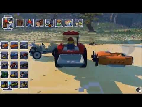 LEGO Worlds - All Characters, Vehicles, Creatures & Items | List - Early Acces (PC HD) [1080p]