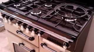 Classic 90 DeLuxe - Video FALCON fornuis creme - De Schouw Witgoed