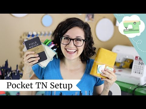 Pocket Traveler's Notebook Setup + JetPens Haul | @laurenfairwx