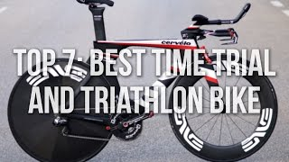 Top 7: Best Time Trial/Triathlon Bikes 2015/2016