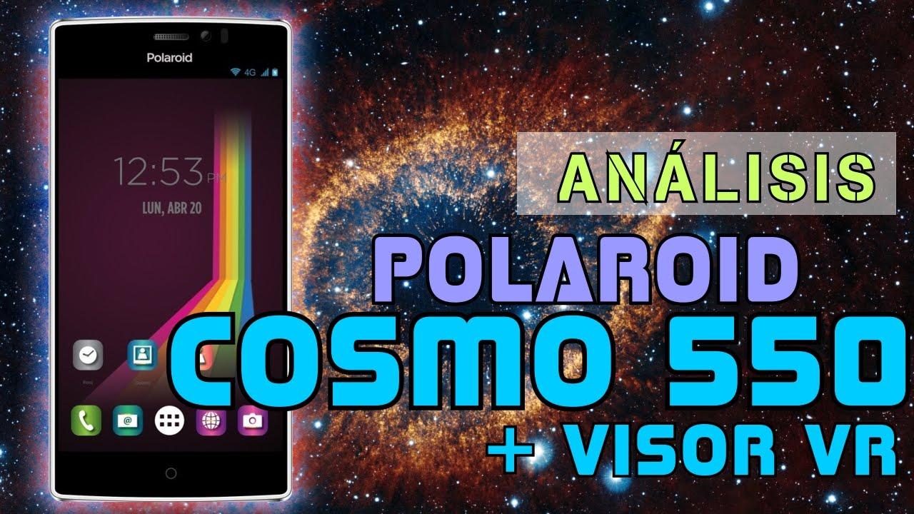 82e09372ea Probamos el Polaroid Cosmo 550 + Visor VR – Exalli