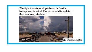 Ouragan Florence :