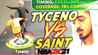 TYCENO vs SAINT GAME OF THE YEAR NEXT GEN NBA 2K21