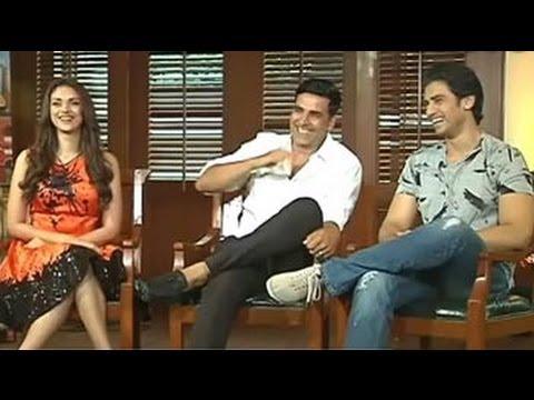Akshay Kumar, Aditi Rao, Shiv Pandit talk about the film 'Boss'