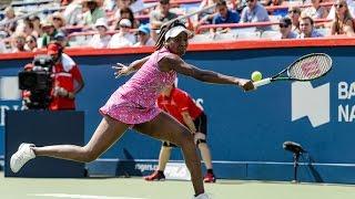 2016 Coupe Rogers Second Round | Venus Williams vs Barbora Strycova | WTA Highlights