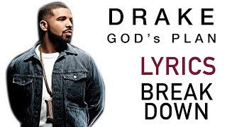 Drake God's Plan - LYRICS BREAKDOWN/reaction