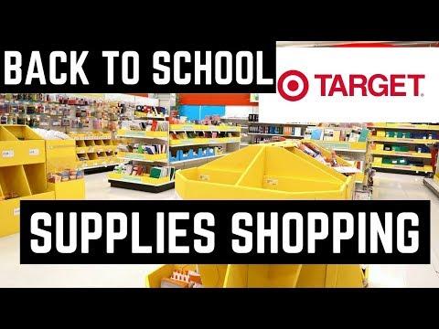 Back To School Target Walkthrough Target Shop With Me School Supplies High School Teacher Haul