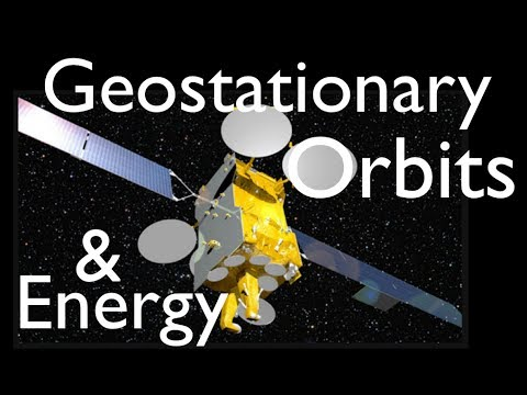 Gravitation (15 of 17) Energy Needed to Launch a Satellite into Geosynchronous Orbit