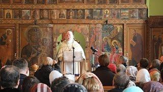Протоиерей Димитрий Смирнов. Проповедь на неделю о мытаре и фарисее (21 февраля 2016 года)