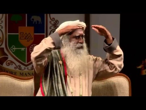 IMA International Management Conclave (Feb, 2015) - Sadhguru Jaggi Vasudev (An Indian yogi)