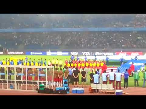 Indian Anthem FIFA U17 WC