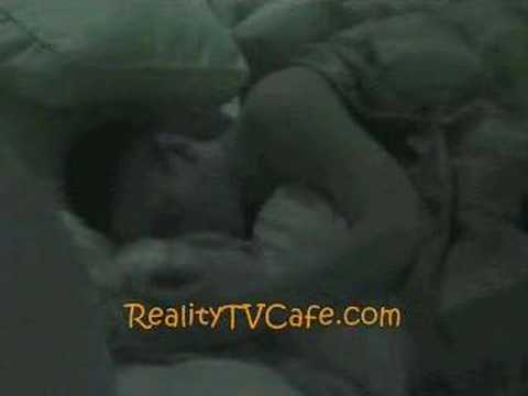 Big Brother 8 Jessica and Eric's First KISS!
