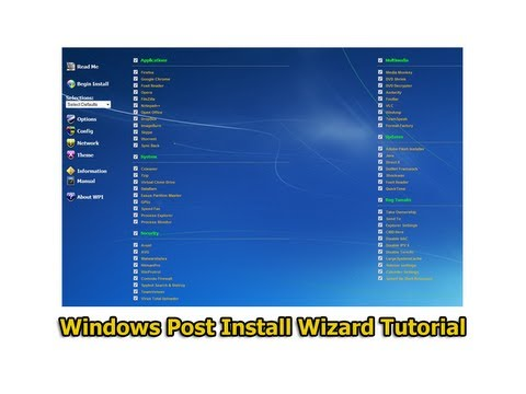 Post Windows Install Wizard Инструкция - фото 3