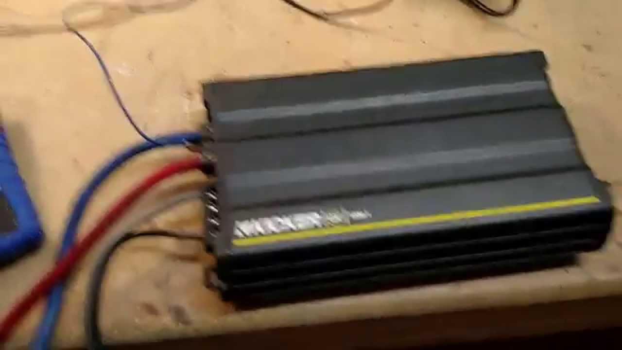 one amp wiring diagram [ 1280 x 720 Pixel ]