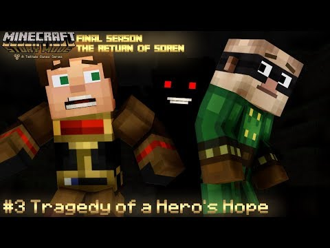 (MMD) Minecraft Story Mode: EPISODE 3 - Tragedy Of A Hero's Hope (FINAL SEASON)