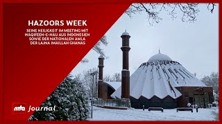 This Week mit Hazoor - MTA Journal | 01.02.2021